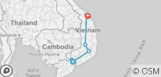 Ho Chi Minh City to Hoi An - 7 destinations