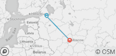Easy Pace Russia - Summer 2020 (8 Days) - 3 destinations