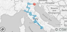 Country Roads Of Italy - Summer 2020 (16 Days) - 20 destinations