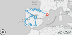 Grand Spain & Portugal - End Barcelona , Summer 2020 (18 Days) - 23 destinations