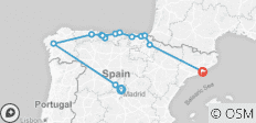 Northern Spain end Barcelona (2020) - 14 destinations