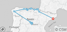 Northern Spain - End Barcelona , Classic Group , 2021 (11 Days) - 14 destinations