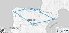 Northern Spain end Madrid (2019) - 10 destinations