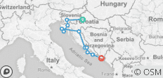 Country Roads of Croatia - 2020 - 11 destinations