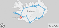 Natural Wonders Of Iceland - Classic Group , 2021 (9 Days) - 18 destinations