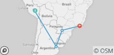 Best of South America - 12 Days - 5 destinations