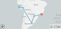 Exploring South America - 13 days - 7 destinations