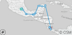 Mexico & Costa Rica Experience - 31 destinations
