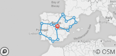 Spain & Portugal Explorer - 15 Days - 19 destinations