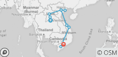 Laos to Vietnam - 16 Days - 10 destinations