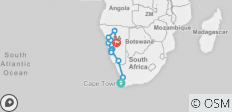Cape to Namibia - 14 days - 11 destinations