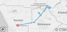 Falls to Namibia - 10 days - 9 destinations