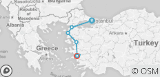 Aegean Express Tour - 7 destinations