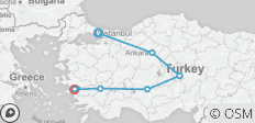 Ancient Turkey Tour - 9 destinations