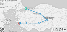 Ancient Turkey Tour - 11 destinations