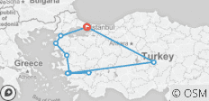 Easymade Turkey Tour - 10 destinations