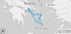 Greek Island Cruising (Jewels of the Cyclades) - 11 destinations