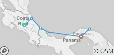 Costa Rica & Panama Adventure - 7 destinations