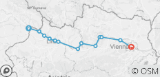 Passau to Vienna Cycle Deluxe - 13 destinations