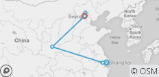 Shanghai to Beijing - 8 days - 6 destinations