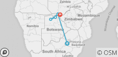 Southern Africa: travel to the ends of the earth (port-to-port cruise) - 6 destinations