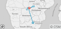 Southern Africa: travel to the ends of the earth (port-to-port cruise) (12 destinations) - 12 destinations