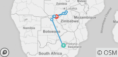 Southern Africa: travel to the ends of the earth (port-to-port cruise) - 11 destinations