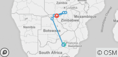 Southern Africa: travel to the ends of the earth (port-to-port cruise) - 9 destinations