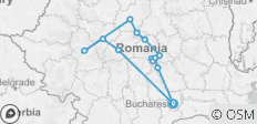 Transylvania revealed tour - 13 destinations