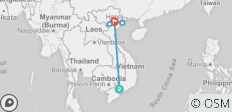 Vietnam at a Glance - 7 Days - 9 destinations
