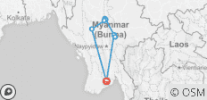 Myanmar Legend Honeymoon 10 Days Trip - 9 destinations
