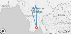 Myanmar Highlights - 7 Days - 12 destinations