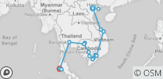 Endless beauty of Vietnam, Cambodia and Thailand 19Days/18Nights - 21 destinations