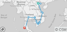 Endless Beauty of Vietnam, Cambodia & Thailand - 19 Days - 20 destinations