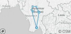 Burma Legend Adventure 12 Days Trip - 11 destinations