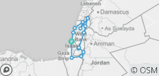 Highlights of Israel - 8 days - 14 destinations