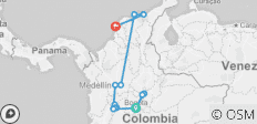Colombia Highlights Tour - 14 destinations