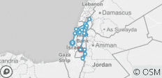 Classic Israel Tour - 19 destinations
