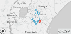 Kenya & Tanzania Trails - 13 days - 16 destinations
