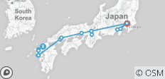 Japan Unveiled 14 Days - 17 destinations