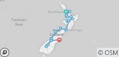 Stray NZ - Short Moe Pass (National) - 15 destinations