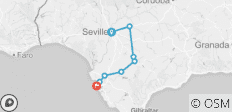 Self-Guided Cycling in Andalucia: Seville to Cadiz - 8 destinations