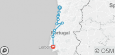 Porto to Lisbon Atlantic Ride - 11 destinations
