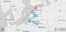 Great Bike Tour of the Baltics (2020 Guaranteed Departures!) - 19 destinations