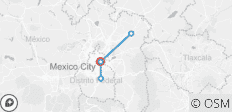 Mexico City Urban Experience 5D/4N - 5 destinations