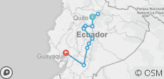 All Landscapes of Ecuador - 13 destinations