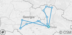 7 Day Visit Georgia - 14 destinations