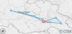 6 Day Exploration of Georgia - 9 destinations