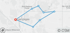 Vegas, Valleys & Canyons - 8 destinations
