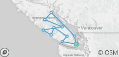 8 Day Vancouver Island Camping Adventure - 11 destinations